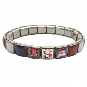 Limited Edition USA American Flag Bracelet