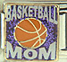 Basketball Mom on Sparkle Purple