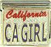 CA GIRL on Glitter White