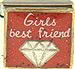 Girls Best Friend on Sparkle Red