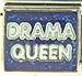 Drama Queen on Blue