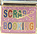 Multi-Color Scrap Booking Text on Pink
