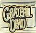 FINAL SALE Grateful Dead Text Bones Logo
