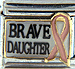 Brave Daughter with Pink Ribbon