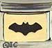 Black Bat on Gold