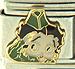 Betty Boop in Green Army Attire