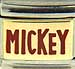 Disney Red MICKEY