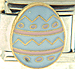 Blue and Pink Easter Egg