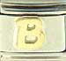 Disney Gold Letter B