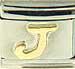 Disney Gold Letter J