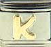 Disney Gold Letter K