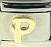Disney Gold Letter P