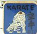 Karate on Blue