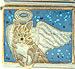 Tan Tabby Cat Angel