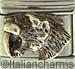 FINAL SALE Handcrafted Vermeil Sabre Tooth Tiger