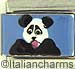 FINAL SALE Handpainted Panda Bear
