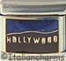 Hollywood with Sparkle Blue Sky
