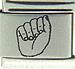 Laser ASL Letter A