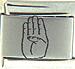 Laser ASL Letter B