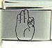 Laser ASL Letter F