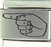 Laser ASL Letter G