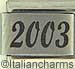 FINAL SALE Laser 2003