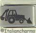 Laser Backhoe Tractor