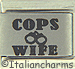 Laser Cops Wife with Handcuffs