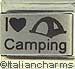 Laser I Love Camping