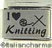 Laser I Love Knitting