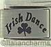 Laser Irish Dance with Shamrock