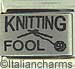 Laser Knitting Fool