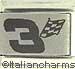 Laser  3 Racing Flag