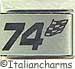 Laser 74 Racing Flag