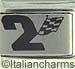 Laser 2 Racing Flag