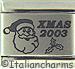 FIINAL SALE Laser Xmas 2003 with Santa