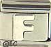 Sterling Letter F