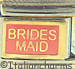 Brides Maid on Pink