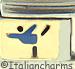 Blue Gymnast
