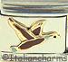 Brown Flying Goose