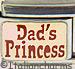 Dad's Princess on Gold