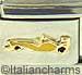 Yellow Low Profile Race Car