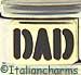 Black DAD on Gold