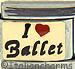 I Love Ballet on Gold