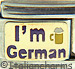 I'm German on Gold with Beer Stein Purple Text