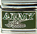 Army with Tank on Green