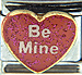 Be Mine on Pink Heart