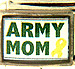 Army Mom with Yellow Ribbon