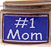 1 Mom on Blue