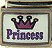 Crown with Purple Princess